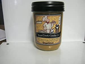 Swan Creek Candle Co. Gingerbread 12 Oz.