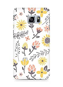 Amez designer printed 3d premium high quality back case cover for Samsung Galaxy S6 Edge Plus (Field of flowers)