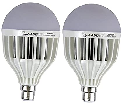 High Power 18W LED Bulb (Pack of 2)