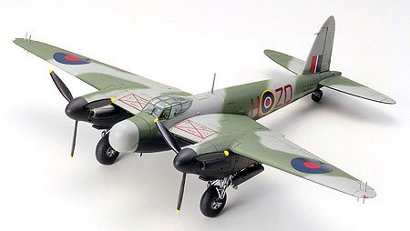 #60765 Tamiya De Havilland Mosquito NF Mk. XII/XVII 1/72 Scale Plastic Model Kit,Needs Assembly