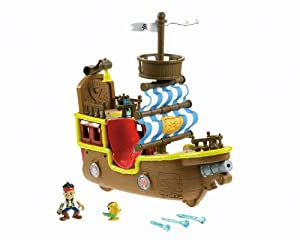 Fisher-Price Jake and The Never Land Pirates - Jake's Musical Pirate Ship Bucky