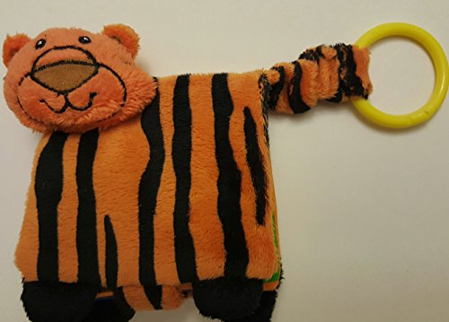 Baby Gund Fun Learning Book - Tiger - 1