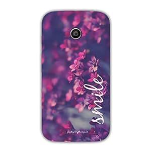 Designer Phone Covers - Moto E-smile