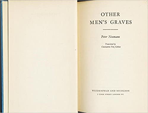 Other Men'S Graves: Diary Of An Ss Man