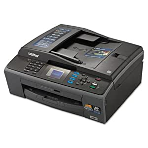 Brother MFC-J410W Wireless Compact All-in-One Inkjet Printer, Copy/Fax/Print/Scan