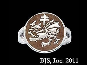Amazon.com: Order of the Dragon Vlad the Impaler Dracula Sigil Ring