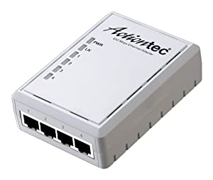 Actiontec 500 Mbps Powerline 4-port Single Network Adapter (PWR514WB1)