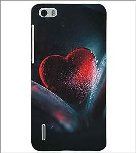 PRINTSWAG HEART Designer Back Cover Case for HUAWEI HONOR 6