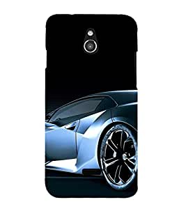 PrintVisa Sports Car Design 3D Hard Polycarbonate Designer Back Case Cover for Infocus M2
