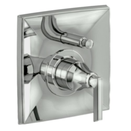 Jado 848546.144 Pyke Pressure Balance Diverter Tub and Shower Valve Trim, Brushed Nickel