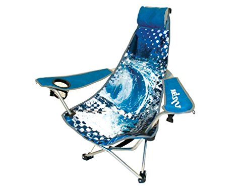 Kelsyus Wave Backpack Chair (Blue) front-1055885