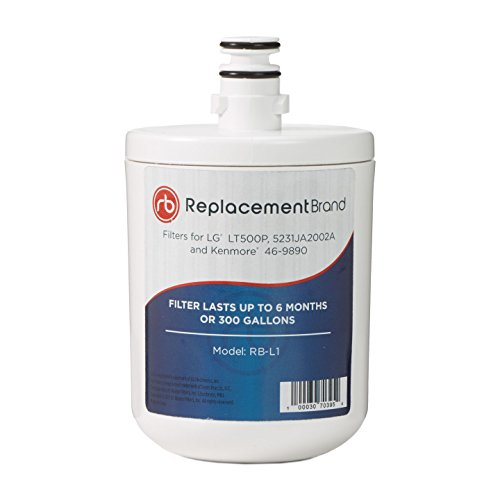 LG LT500P 5231JA2002A ADQ72910907 Comparable Refrigerator Water Filter