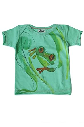 Itsus Baby-Boys Newborn Tree Frog Tee, Holiday, 9-12 Months
