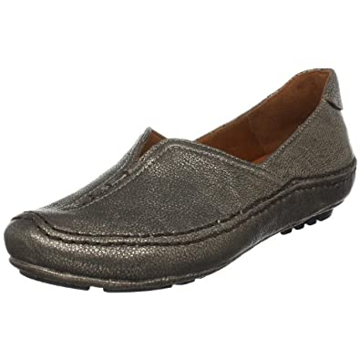 Gentle Souls Women's Soleful Loafer,Antique Pewter,5 M US