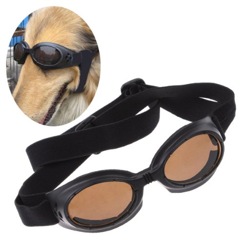 TOMTOP Fashion Doggles Dogs UV Sunglasses Pet Protective Eyewear(Blue,Black,Pink)
