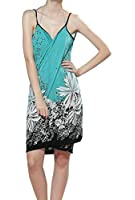 Zeagoo Women's Floral Bikini Swimwear Cover Up Beach Dress