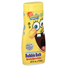 Nickelodeon Sponge Bob SquarePants Bubble Bath, Wacky Watermelon, 24 oz.