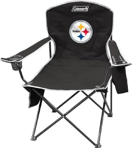 Pittsburgh Steelers XL Cooler Quad Chair at Steeler Mania