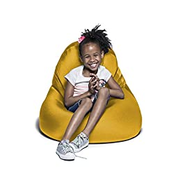 Jaxx Nimbus Spandex Bean Bag Chair for Kids, Gold
