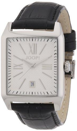Joop JP101101F01 - Reloj analógico de cuarzo para hombre con correa de piel, color negro