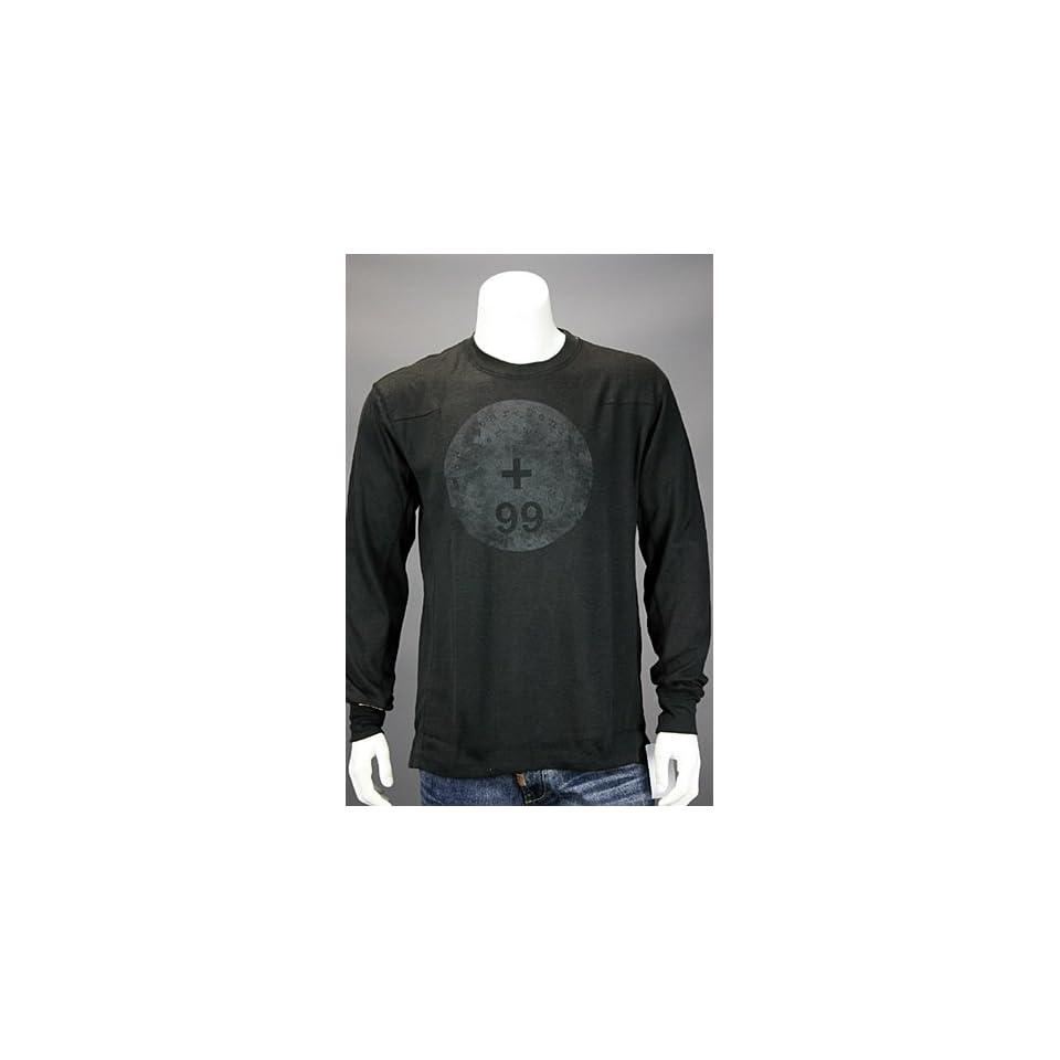 World Builder Long Sleeve Shirt Black. Size LG Sports