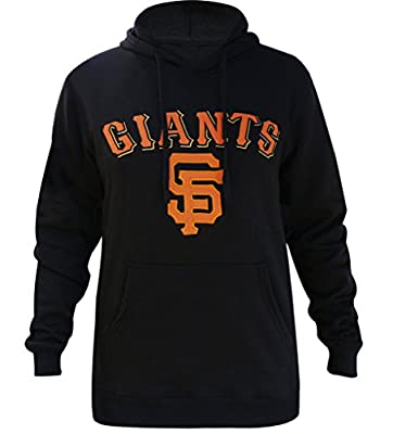 Golden Zone Mens San Francisco Giants Athletic Hoodies Pullovers - Black