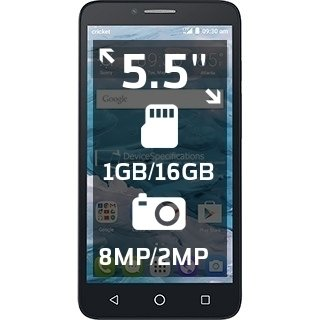 cricket-wireless-alcatel-onetouch-flint-4g-lte-55-hd-ips-16gb-memory-no-contract-cell-phone