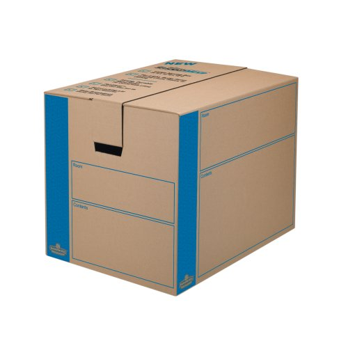 Bankers Box SmoothMove Moving and Storage Boxes,