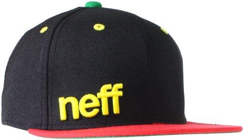 Buy neff Men's Daily Cap Adjustable Hat, Rasta, One Size