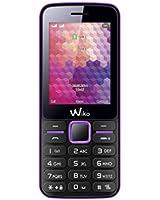Wiko Riff Téléphone portable débloqué 2G (Ecran : 2,4 pouces 8 Go Double SIM) Violet