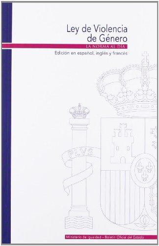 Ley de violencia de género: español, inglés y francés