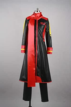 Cosplay Costume X-Small Size VOCALOID AKITO¡¡(black and red ) Japanese
