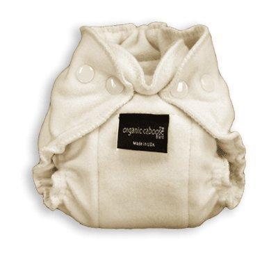 Organic Caboose Newborn Fitted Diaper