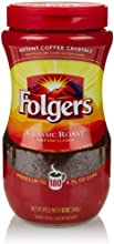 Folgers Classic Roast Crystal Instant Coffee 12 Oz