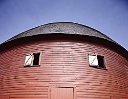 Round Barn, Arcadia, Oklahoma Photograph - Beautiful 16x20-inch Photographic Print by Carol M. Highsmith