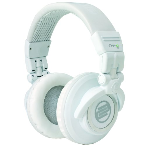 Reloop RHP-10 Limited Edition Professional DJ Headphones (White)
