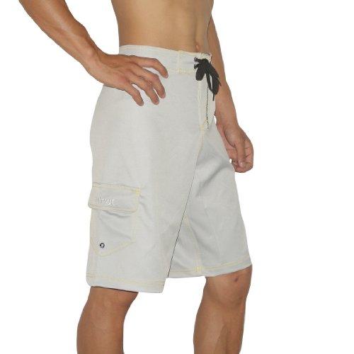 Mens Hurley Skate & Surf Boardshorts Board Shorts - Grey