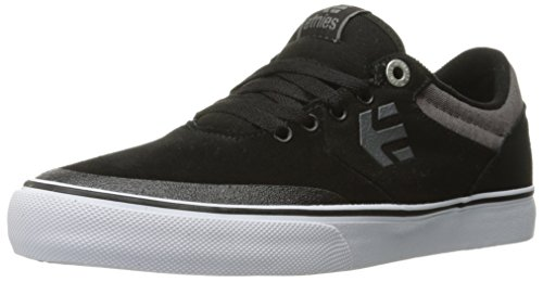 Etnies Men's Marana Vulc Skateboarding Shoe, Black/Grey/White, 11 M US