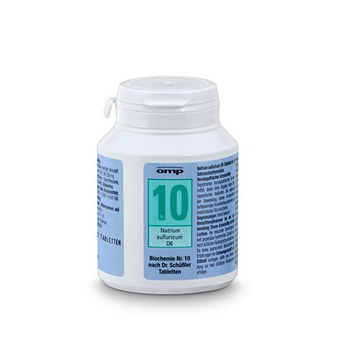 schuessler salz nr 10 natrium sulfuricum d6 400 stk tabl biochemie glutenfrei. Black Bedroom Furniture Sets. Home Design Ideas