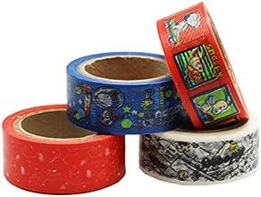 Peanuts Snoopy Variety Decorative Tape 4 rolls