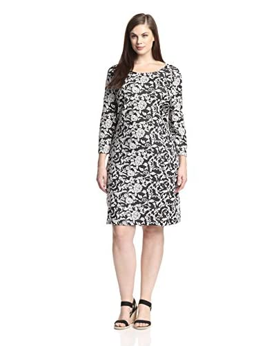 BB Dakota Plus Women's Nima Jacquard Dress