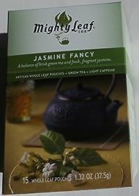 Mighty Leaf Tea - Green Tea - Jasmine Fancy -15ct Whole Leaf Pouches