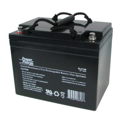12 Volt 35 Amp Sealed Lead Acid Wheelchair Battery (Set of 2) [Set of 2]
