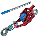 "3 Ton Ratchet Puller With 35' Of 5/16"" Amsteel Blue"