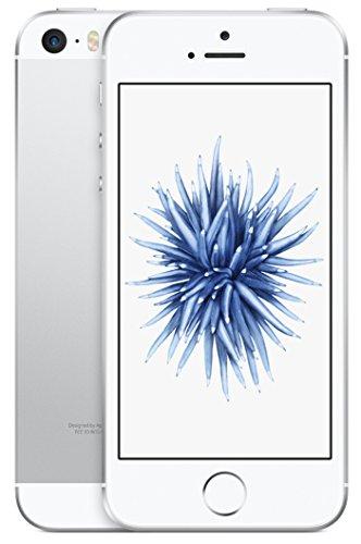 Apple 2016 iPhone SE SIMフリー 4インチ 【64GB シルバー】- 米国版SIMフリー [並行輸入品]
