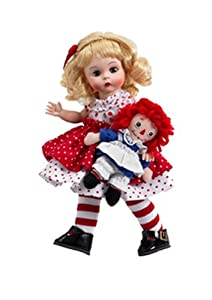 "Madame Alexander Dolls Raggedy Ann and Me, 8"", Raggedy Ann and Andy Collection, Storyland Collection"