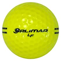 Orlimar LF Golf Range Ball - 25 dozen Bulk (Yellow with Black)
