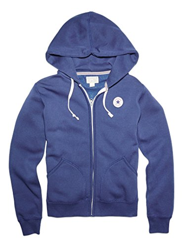 Converse Donna AWK Core Full Zip Hoodie, Donna, AWK Core Full Zip Hoodie, Nighttime Navy, XS