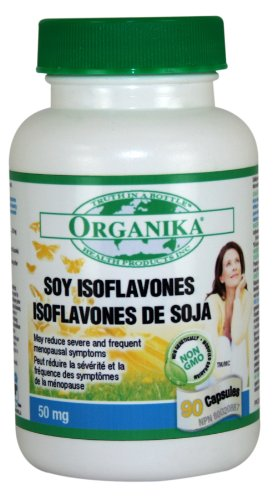 Organika Soy Isoflavone 50 Mg, 90 Capsules