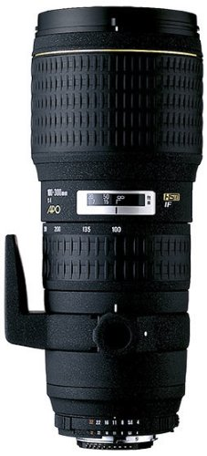 Sigma 100-300Mm F/4 Ex Dg If Hsm Apo Fast Aperture Telephoto Zoom Lens For Nikon Digital Slr Cameras